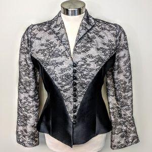 $425 Silk & Lace Jacket